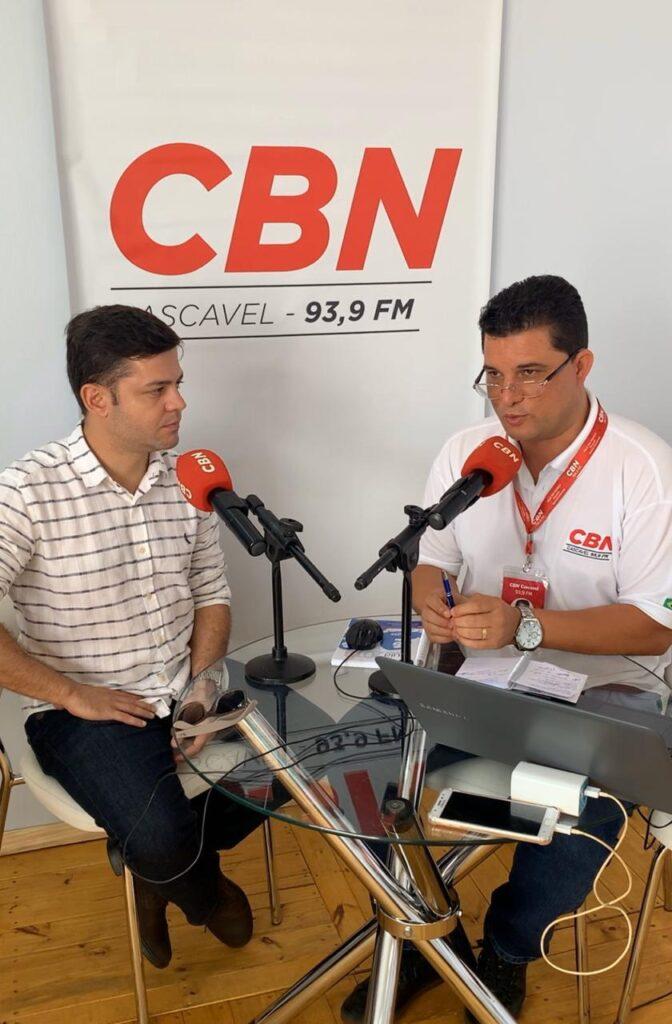 """Em entrevista para a Rádio CBN, Tião Medeiros defende o agronegócio: """"é o carro-chefe do Paraná"""""""